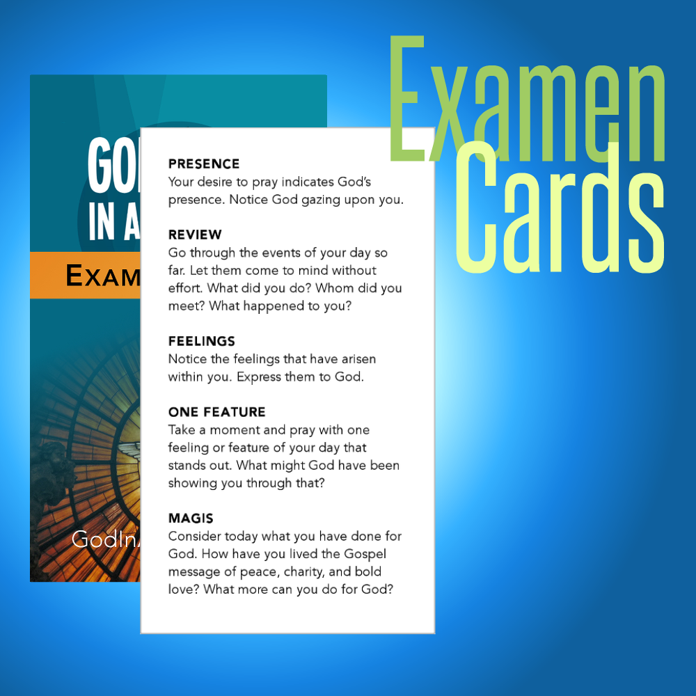 Examen Cards Set Of 50 Ignatian Resources